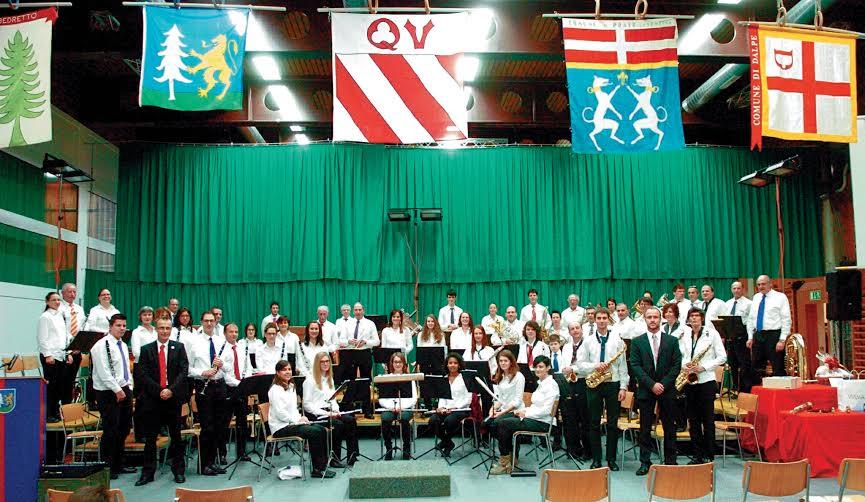 Airolo Filarmonica Alta Leventina Concerto Inaugurale nella Palestra Comunale