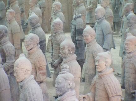 maggio2015_Gita ALPA cina foto statue cinesei