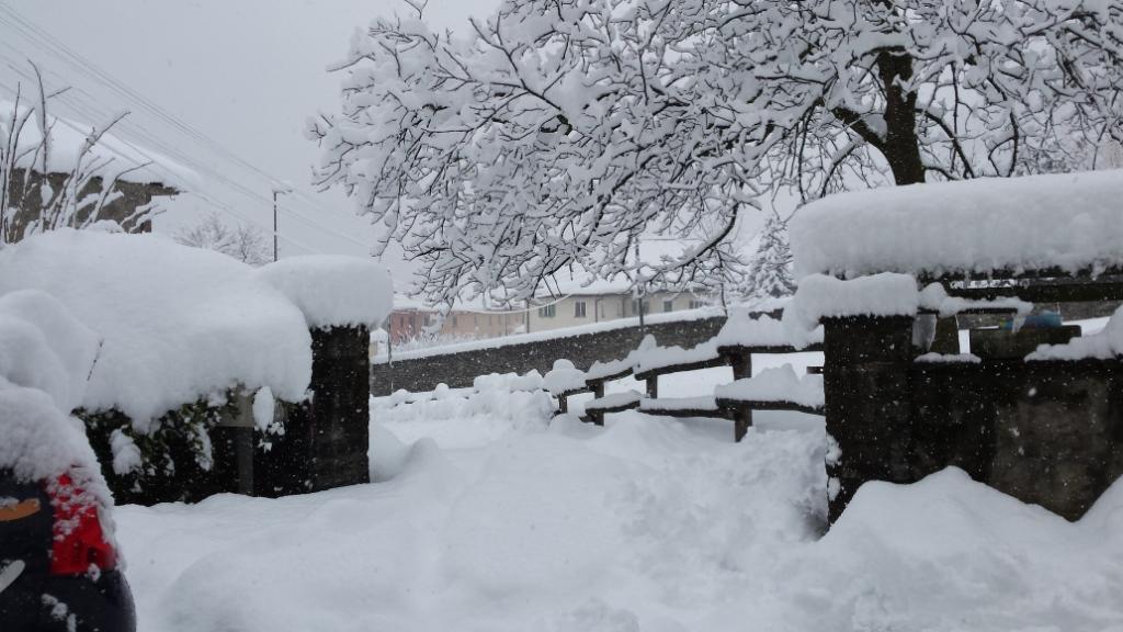neve a faido sgomberata