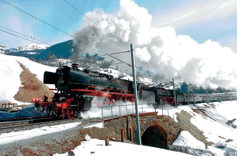 treni vapore airolo 7 3 2015
