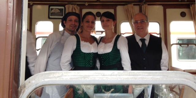 personale sul treno servizio