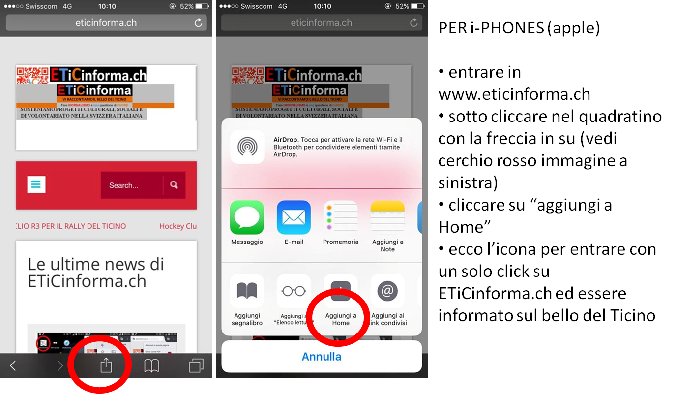 come mettere il loghino etc sul desktop natel e tablet iPhomes
