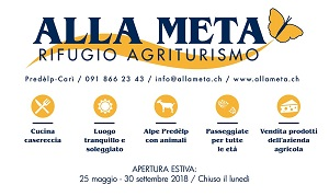 AGRITURISMO ALLA META A PREDELP (SOPRA CARÌ)