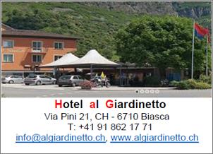 HOTEL*** AL GIARDINETTO BIASCA