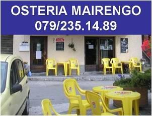 OSTERIA MAIRENGO DI ANGELA SCALTRI +41 79 235 14 89