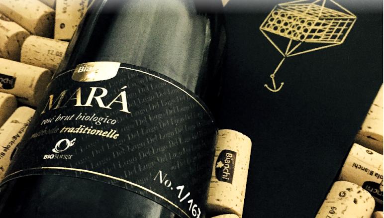 mara vino brut biologico ditta bianchi di Arogno