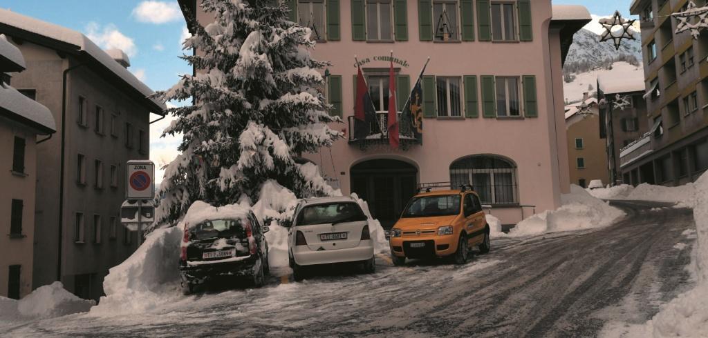Airolo inverno Casa Comunale