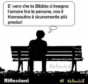 VALTERINIK: fare l'amore secondo la bibbia o kamasutra?