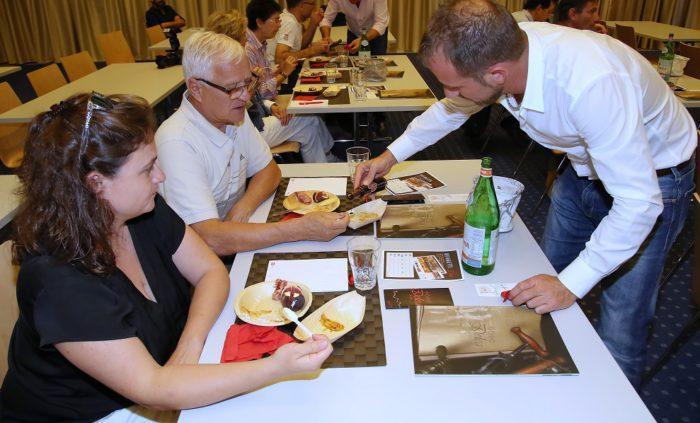 LUGANO, 19.09.2018 - Balsamico senza Frontiere: Laboratorio e degustazione a cura di Vini e Distillati Delea. Lugano Citta del Gusto 2018. copyright by www.steineggerpix.com & LCDG2018 / photo by remy steinegger