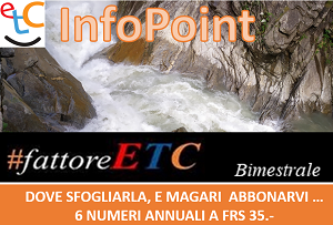 ETC Info Point. Dove trovi la rivista da sfogliare e eventualmente abbonarti...