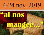 AL NOS MANGEE... 4-24 NOV. 2019  COMUNICATO CONCLUSIVO DEGLI ORGANIZZATORI