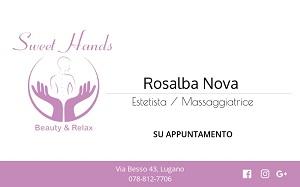 SWEET HANDS di Rosy Novi a Lugano (estetista & massaggiatrice) ¦ PROGETTO EUREKA