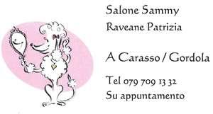 SALONE SAMMY x cani ¦ CARASSO/GORDOLA  Patrizia +41 79 709 13 32