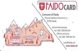 FAIDO CARD VANTAGGI PER I POSSESSORI 2020-2021