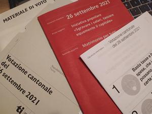 OSSERVAZIONI DEI VARI PARTITI/MOVIMENTI/GRUPPI SUI TEMI POSTI IN VOTAZIONE IL 26 SETTEMBRE 2021
